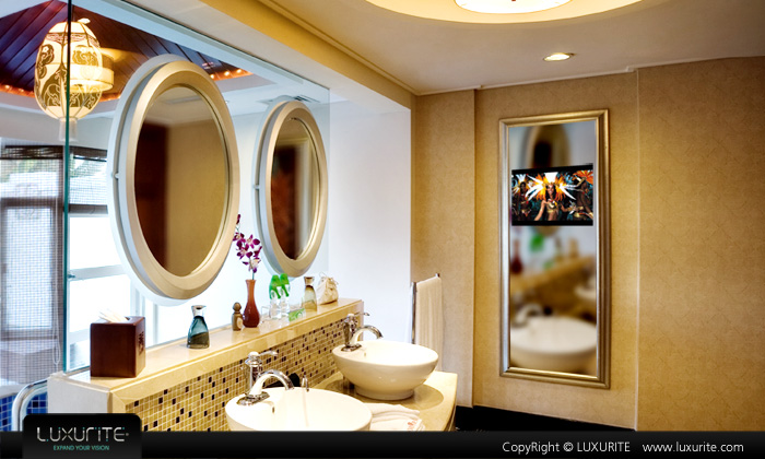 LUXURITE mirror tv