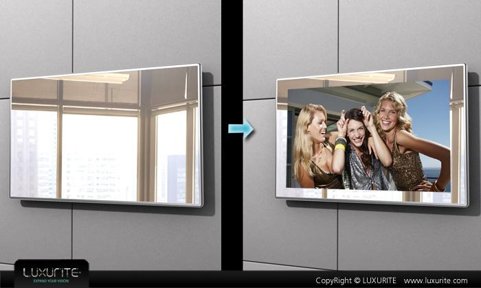 glass tv,glass mirror tv