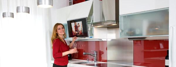 Телевизор для кухни.
