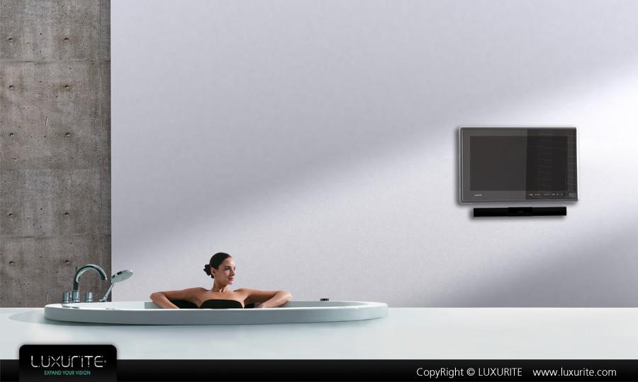 bathroom waterproof lcd tv