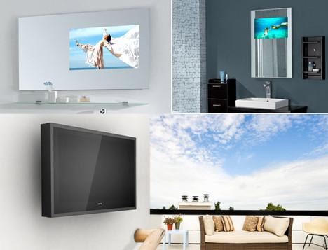 glass tv